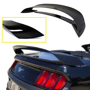 For Ford Mustang 15 18 2019 Gt350r Style Glossy Trunk Spoiler Deck Lid Wing