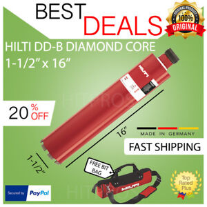 Hilti Diamond Core Bit dd b 1 1 2 X 16 pl High End Brand New made In Usa