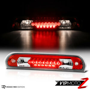 For 02 08 Dodge Ram Truck 1500 2500 3500 Red Led 3rd Brake Light Cargo Tail Lamp