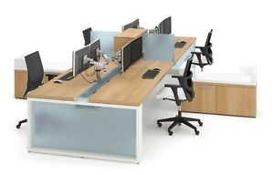 Cite Modern Collaborative Open Office Workstation desk table cubicle benching