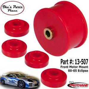 Prothane 13 507 Front Motor Mount X Member Bushings Kit 00 05 Eclipse V6 4 Cyl