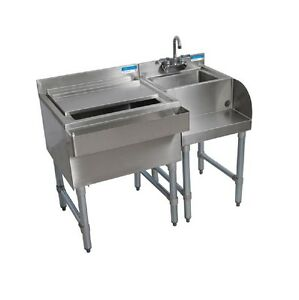 Underbar Blender Station Ice Bin 66 Work Station For Bar Bbkub ws bsib 66 g