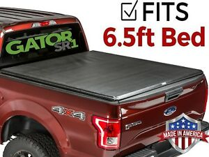 Gator Sr1 Roll up fits 2015 2019 Ford F150 6 5 Ft Tonneau Truck Bed Cover