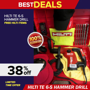 Hilti Te 6 s Drill Free Measuring Laser More mint Made In Germany Fast Ship