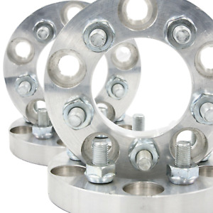 5x112 To 5x120 Usa Wheel Adapters 1 Thick 12x1 5 Lug Studs 66 6 Bore Spacers X4