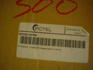 Pctel Sp3338 16xp90 90 Degrees Sector Antenna 60 Day Warranty