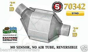70342 Eastern Universal Catalytic Converter Standard Catalyst 2 Pipe 8 Body