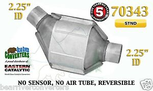 70343 Eastern Universal Catalytic Converter Standard 2 25 2 1 4 Pipe 8 Body