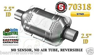 70318 Eastern Universal Catalytic Converter Standard 2 5 2 1 2 Pipe 10 Body
