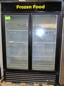 True Gdm 49f ld Freezer Merchandiser Commercial Refrigeration