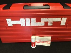 Hilti Case For Te 905 avr preowned Great Condition Durable Fast Shipping