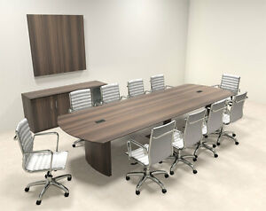 Modern Contemporary 12 Feet Conference Table mt med c14