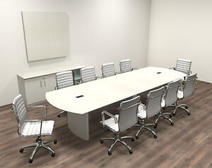 Modern Contemporary 12 Feet Conference Table mt med c15
