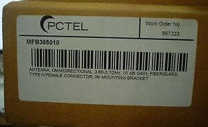 Sealed Pctel Omnidirectional Antenna Mfb365010 60 Day Warranty