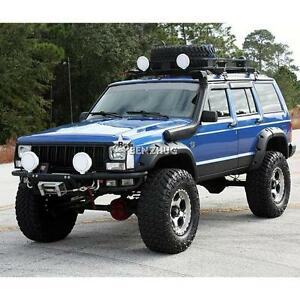 6x Wide Pocket Fender Flares Black For 1984 2001 Jeep Cherokee Xj Sport Utility