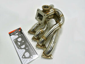 Obx Top Mount T4 Manifold Fits Civic Integra B Series W T4 Flange