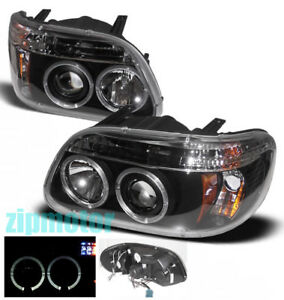 1995 2001 Ford Explorer Led Projector Headlights Black