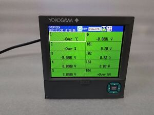 Yokogawa 6 Channel Recorder Fx1006 4 2 l Suffix Pwr1