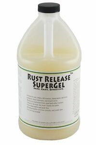 Rust Release Supergel The Industry Standard Rust Remover Removes Your Rust