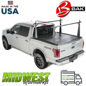 Bak Flip Cs Folding Tonneau Cover W Rack Fits 2005 2015 Toyota Tacoma 6 Bed