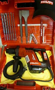 Hilti Te 5 Hammer Drill 230v Free Drill Bits Chisels Made In Germany