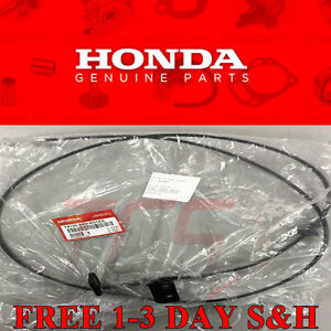 Genuine Oem Honda Civic 2 4 Door Hood Release Cable With Handle 2001 2005