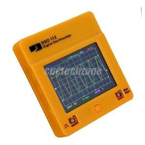 Dso112 Touch Screen 2mhz 2 5msps Mini Digital Oscilloscope Pocket Oscilloscope