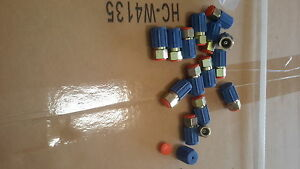 10 A c Ac Low Side Service Port Air Conditioning Retrofits Adapters fittings