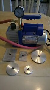 Electric Vacuum Tester Valve Seat For Cylinder Head Nt Goodson Sioux Van Norman