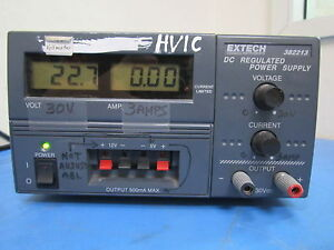 Extech 382213 Dc Regulated Power Supply Repair