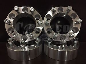 4x 2 6x 5 5 Wheel Spacers 12x1 5 Studs Fit 1995 2012 Toyota Tacoma