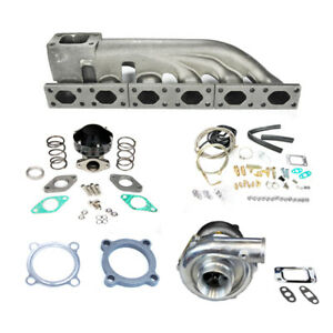 92 05 Bmw E36 E46 323 325 328 330 Gt30 Turbo Charger Set Up Kit 350hp