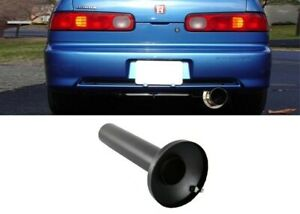Black Universal Quiet Stainless Steel Inner For 4 Muffler Silencer Insert Tip