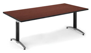 6 Mesh Base Laminate Office Conference Table