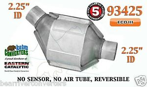 93425 Eastern Universal Catalytic Converter Eco Iii 2 25 2 1 4 Pipe 8 Body
