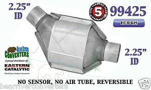 99425 Eastern Universal Catalytic Converter Eco Gm 2 25 2 1 4 Pipe 8 Body