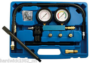 New Cylinder Head Leakage Tester 7 Bar 100psi Tool Kit