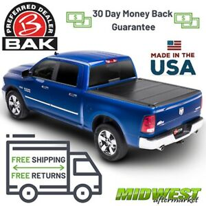 Bak Industries Bakflip G2 Hard Tonneau Cover 09 18 Dodge Ram 5 7 Bed W Ram Box