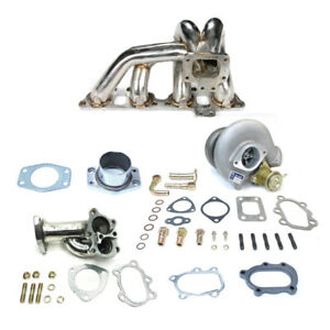 Td05 18g Stainless Steel Turbo Charger Kit Fits 240sx S13 S14 S15 Sr20 Sr20det