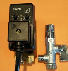 1 4 Timed Auto Drain Solenoid W Strainer For Compressed Air
