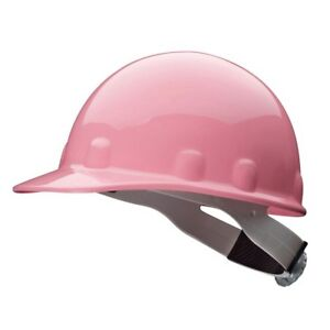 Fibre metal E2rw70a000 Pink Front Brim Hard Hat Ansitype 1 Size 6 1 2 To 8