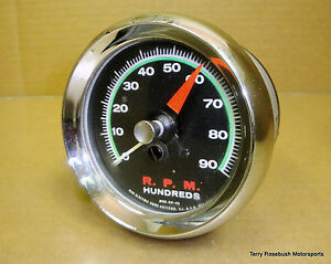 Sun Sst 90 Super Tach 9 000 Rpm Green Face Sender Required
