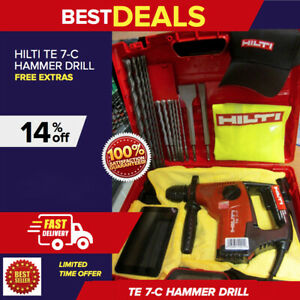 Hilti Te 7 c Hammer Drill In Great Shape Free Tablet Free Bits Fast Ship