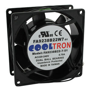 Vent Fan 240v For Crescor Part 0769 174