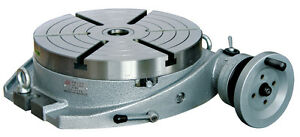 16 Precision Horizontal Rotary Table With A Dividing Plate