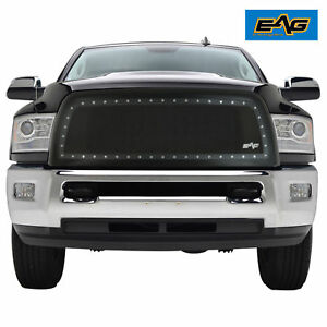 13 18 Dodge Ram 2500 3500 Grille Rivet Black Stainless Steel Wire Mesh Grill