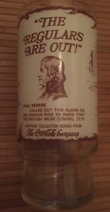 Paul Revere Heritage Collector Series Coca-Cola Drinking Glass New