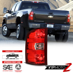 2007 2013 Chevy Silverado 1500 2500hd 3500hd Left Driver Side Tail Light Brake