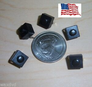 Mini Push Button 8 3mm On Off Switches Square 5 Weatherproof 30v Ship From Usa