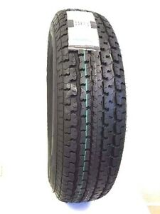4 New St 205 75r15 Radial 8 Ply Rated D 2057515 205 75 15 Trailer Tire